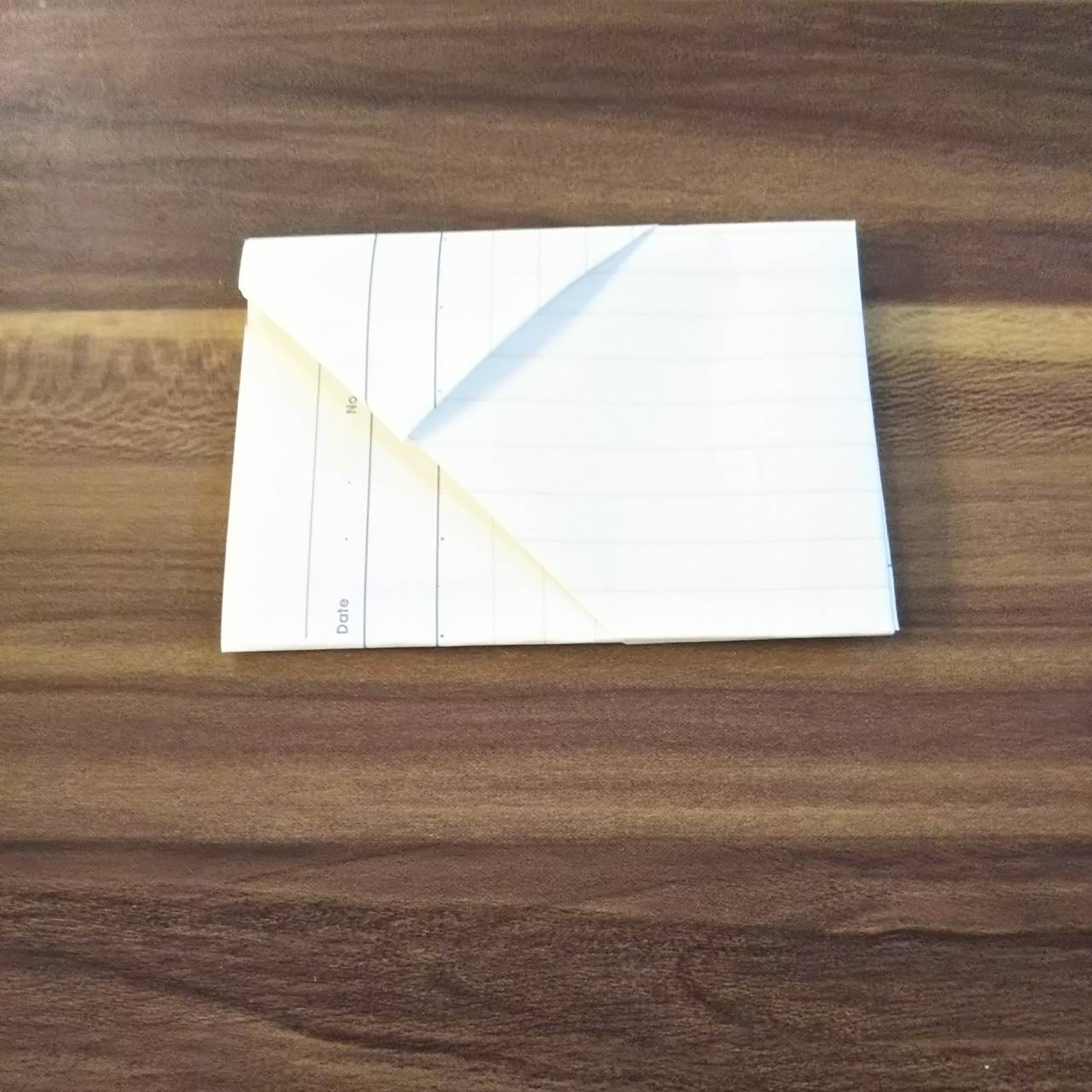 ルーズリーフ手紙の折り方 (14)